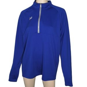 Under Armour Half Zip Pullover Loose Fit Athletic